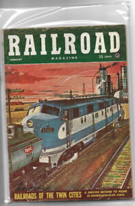 RAILROAD MAGAZINES  1954   6 issues $35.00 each