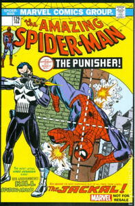 Amazing Spider-Man #129 Reprint Punisher First Appearance Marvel