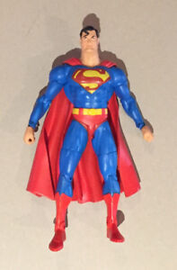 Superman, Doomsday, Wolverine and other figures