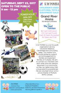 KW POMBA Fall Sale. Volunteers/Students needed