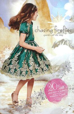 CHASING FIREFLIES Children's Fashion Catalog Holiday 2018 GIRLS + BOYS + FAMILY