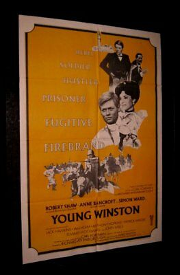 Original YOUNG WINSTON Australian Printed South Pacific Style O/S SHAW SIMON