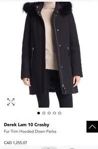DESIGNER WINTER JACKET! Derek Lam 10 Crosby Women's Medium.