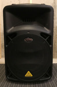 Behringer 1500 Watt Speakers