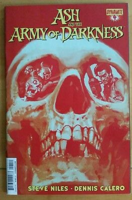 ASH and the ARMY of DARKNESS #4a (2014 DYNAMITE Comics) ~ VF/NM Comic