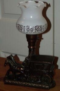 Petite lampe des années 1940-1950 de style vintage