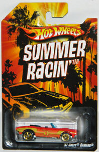 Hot Wheels Summer Racin' 1/64 '67 Chevy Camaro Convertible Car