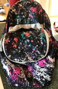 Ivivva back pack and lunch bag