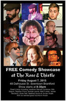FREE Comedy Showcase at The Rose and Thistle British Pub