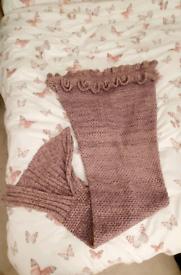 Girls Mermaid tail blanket