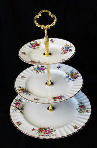 ROYAL WORCESTER TIERED CAKE STANDS