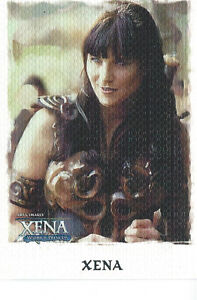 Xena   Art and Images Card Set (63 cards) & Free Case