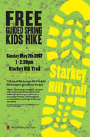 Free Guided Kids Hike is on May 7th...come hiking with us!