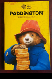 Paddington bear coins and album for sale  Kirkby-in-Ashfield, Nottinghamshire