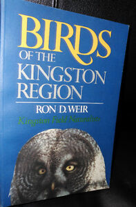1989 Birds of the Kingston Region BIRD BOOK