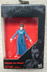 "Star Wars 3.75"" Black Series figure - Princess Leia Organa"