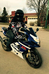 2004 gixxer 750 forsale/trade for golf cart, quad or dirtbike
