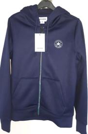 New Converse zip up hoodie