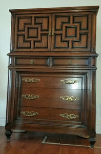 Tall Dresser - Solid Wood