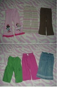 2T Girl's ---- Pants lot (6 pairs for $10)