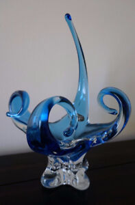 Chalet Art glass bowl Made in Canada
