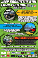 Jeep Saskatchewan Family Outing/Show and Shine