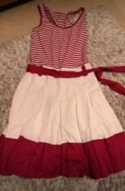 Beautiful pink casual dress (size 10)