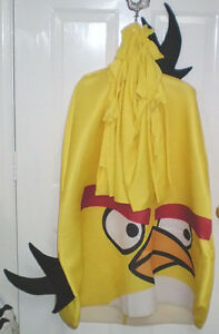 Angry Birds Adult One Size Fits All Halloween Costume Set of Two