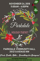 SEEKING 70+ VENDORS for  Parkdale Holiday Market - APPLY NOW!