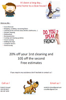 Offer Cleaning Services
