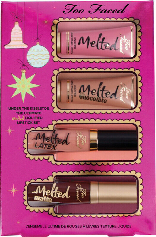 Too Faced UNDER THE KISSLETOE THE ULTIMATE LIQUEFIED