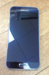 Samsung S6 cell phone with accessories
