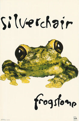 LOT OF 2 POSTERS: MUSIC: SILVERCHAIR - FROGSTOMP   - FREE SHIP   #6503    LW20 O