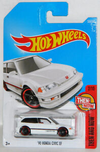 Hot Wheels 1/64 '90 Honda Civic EF Diecast Car