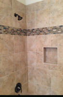 New shower? Call QUALITY TILING @ 226.975.4405
