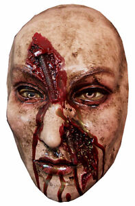 NAILED ZOMBIE HALLOWEEN MASK