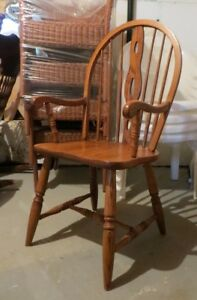 Farmhouse Solid Oak Armchair