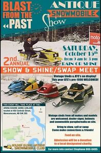 2nd Annual Vintage Snowmobile & ATC Show and Shine/ Swap Meet