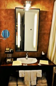 Miroir - Salle de bain / lumières intégré ( 120V)