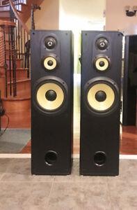 Sony 3-Way Slim Tower SpeakersSS-MF550H
