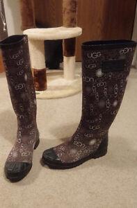 UGG Rain Boots (Size 6)