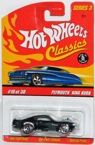 Hot Wheels Classics 1/64 Plymouth King Kuda Diecast Car