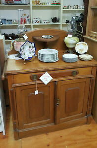 Antique small SideBoard server or Washstand