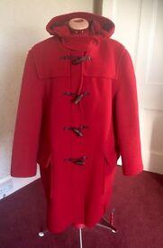 Ladies duffel coat.