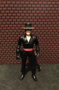 Zorro, Lone Ranger and other vintage figures