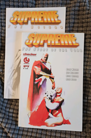 Supreme: The Story of the Year (graphic novel) Alan Moore (Italian)