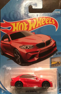 Hotwheels 2016 BMW M2 red