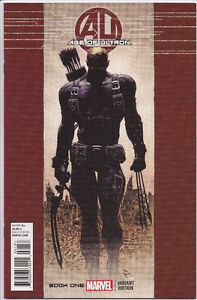 Age of Ultron #1 Rare 1:50 Hawkeye variant cover, comic book