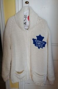 Toronto Maple Leafs Hand Made Sweater For Sale.