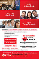 Lots of Jobs Available - Sat, December 5th, 2015